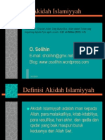 Akidah Islamiyyah