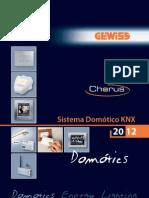 GEWISS CatalogoSistemaDomoticoChorusKNX