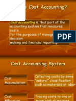 Basics of Costing