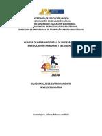 Cuadernillo Secundaria 2013 (Publicación en blog)