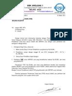 Surat PSB Kolektif Untuk SMP