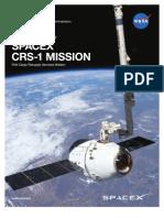 SpaceXCRS-1 Press Kit