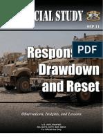 Responsible Drawdown and Reset