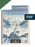 Loup Ardent 1 - La Horde Des Demons