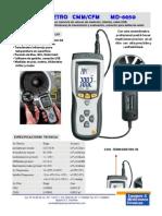 Anemometro MD-8050