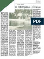 Desarrollo y Turismo en La República Dominicana,I