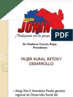 Mujer Rural, Retos y Desarrollo