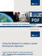 Using the Blueprint to realise a career development approach