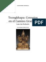 Tsongkhapa Consejos en El Camino Gradual