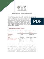 Introduction to the Pancaratra