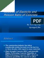 Concrete Elasticity Modulus
