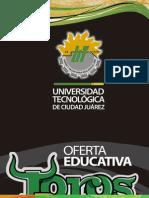 Oferta Educativa UTCJ 2013