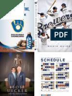Milwaukee Brewers 2013 Media Guide