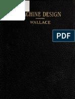 Machine Design by E.L. Wallace