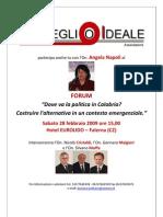 Il Forum Di Risveglio Ideale con Angela Napoli