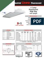 Fluorescent 4 Lamp IFU