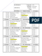 Calendario Camargo