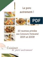 Brochure Recettes Porcs