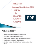 Rceat for RFID tag