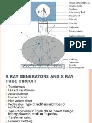X RAY TUBE PPT | Rectifier | Vacuum Tube