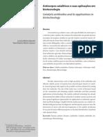 Anticorpos catalíticos e suas aplicações em Bioctelogias