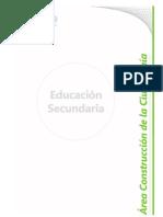 B 03 - Diseño Curricular Nivel Secundario - Area Construccion Ciudadana