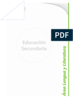 B 04 - Diseño Curricular Nivel Secundario - Area Lengua y Literatura