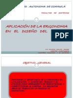 APLICACION DE LA ERGONOMIA EN EL DISEÃ'ODEL TRABAJO - copia