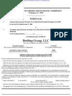 BOTTLING GROUP LLC 10-K (Annual Reports) 2009-02-20