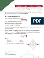 Ecuaciones de Primer Orden