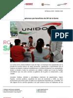 28-02-13 Boletin 1420 Agradecen tepicenses por beneficios de DIF de la Gente