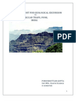 FIELD   REPORT   FOR   GEOLOGICAL   EXCURSION TO  DECCAN   TRAPS,   PUNE ,   INDIA
