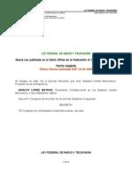 2 Ley Federal de Radio y Television 107art.44pag. (1)