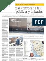 Entrevista con Pedro Pablo Alayza, Gerente de Cultura de la MML