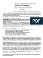 Environmental Impact Report (EIR) for the proposed Crawford High School and Mann Middle Modernization Project