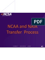ncaa transfer powerpoint