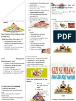 Leaflet Gizi Ibu Post Partum Ok