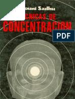 Tecnicas de Concentracion Mouni Sadhu