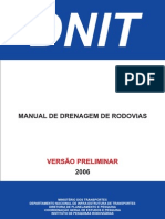 Manual de Drenagem de Rodovias