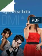 Musicmetric Digital Music Index DMI Report 2012