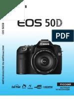 Инструкция пользователя Canon EOS 50D