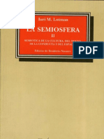 65440431 La Semiosfera II Iuri Lotman