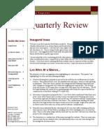 December 2006 Quarterly Newsletter