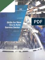 Skill Gap in Auto Services Sector