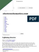 DIY Lightning Detector - Circuit 1