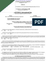 DENTSPLY INTERNATIONAL INC /DE/ 10-K (Annual Reports) 2009-02-20