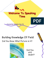 Welcome to Speaking Time