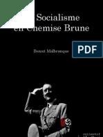 Benoit Malbranque - Le Socialisme en Chemise Brune