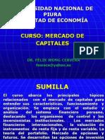 Unidad 1 - Mercado de Capitales 2013