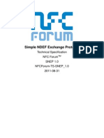 NFC Simple NDEF Exchange Protocol Specification